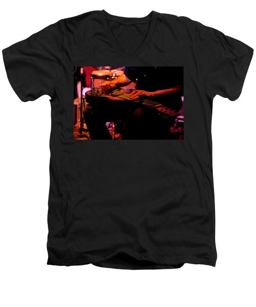 Lap Steel Men's V-Neck T-Shirt