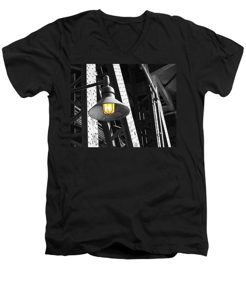 Men's V-Neck T-Shirt featuring the photograph Last Hope by Patricia Babbitt