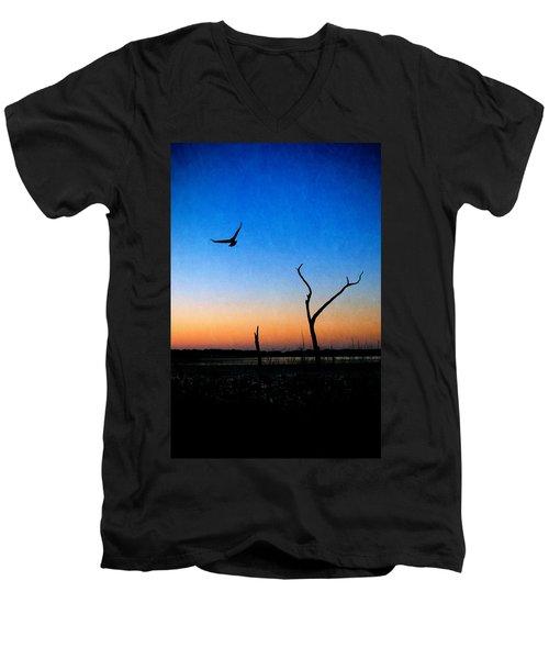 Last Light Men's V-Neck T-Shirt