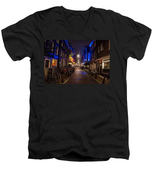 Late Nights Men's V-Neck T-Shirt