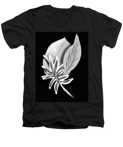 Leaf Ray Men's V-Neck T-Shirt