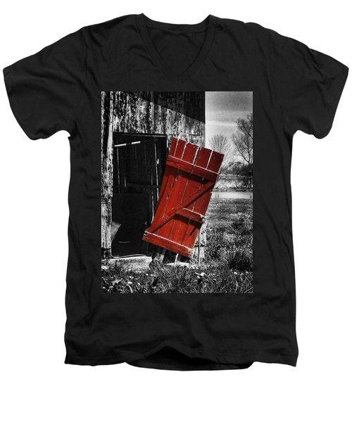 Leave The Door Open Men's V-Neck T-Shirt