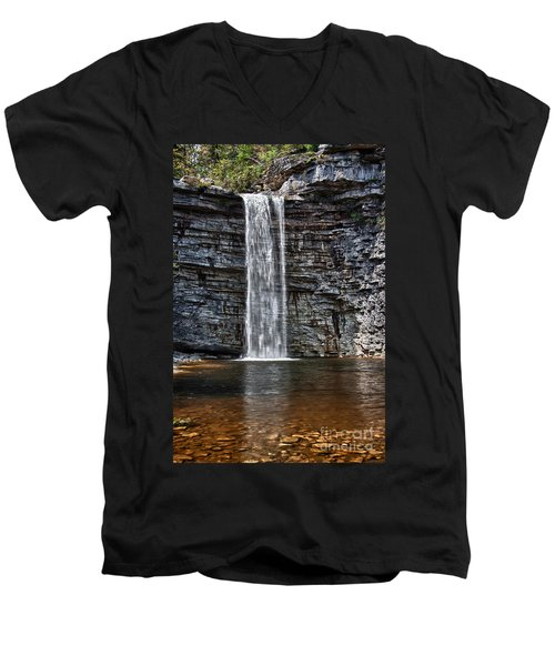 Let It Flow Men's V-Neck T-Shirt