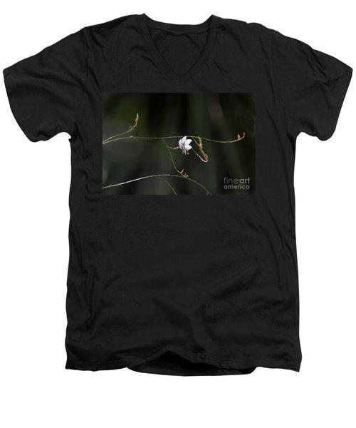 Let The Children Sing. Men's V-Neck T-Shirt by Kathy McClure