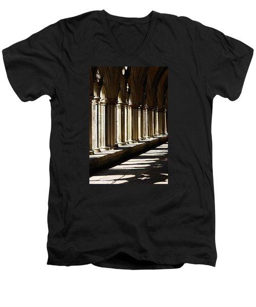 Let The Sun Shine Through Men's V-Neck T-Shirt by Wendy Wilton