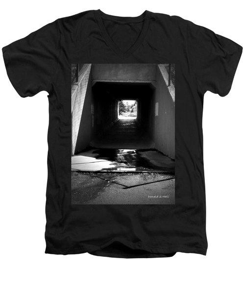 Lethbridge Underpass Men's V-Neck T-Shirt