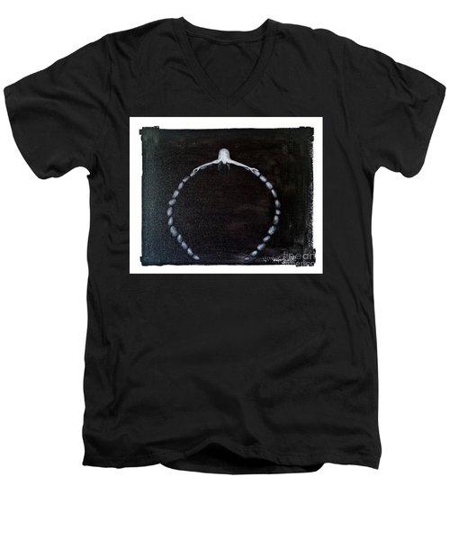 Life Circle Men's V-Neck T-Shirt