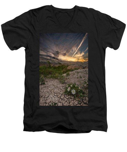 Life Finds A Way Men's V-Neck T-Shirt