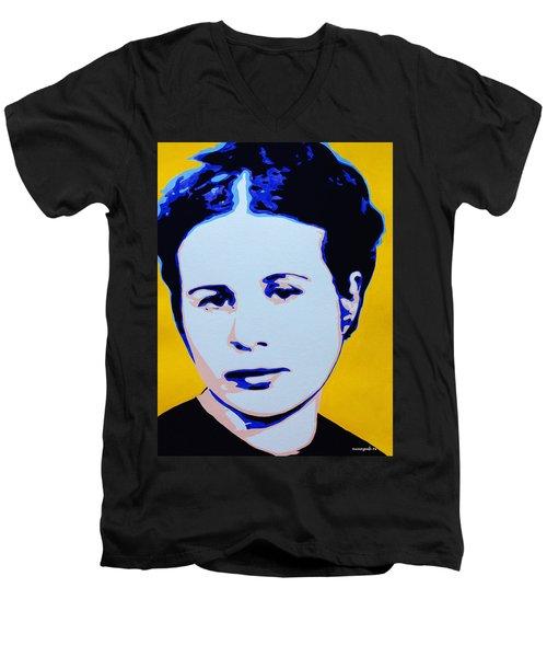 Life In A Jar. Irena Sendler Men's V-Neck T-Shirt
