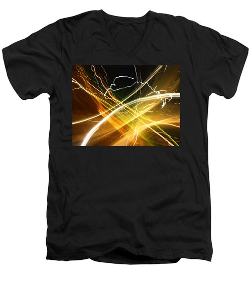 Light Curves 3 Men's V-Neck T-Shirt