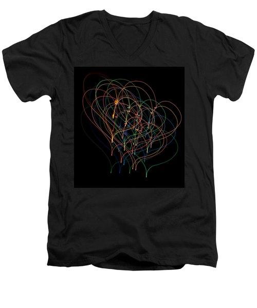 Light Hearted Men's V-Neck T-Shirt