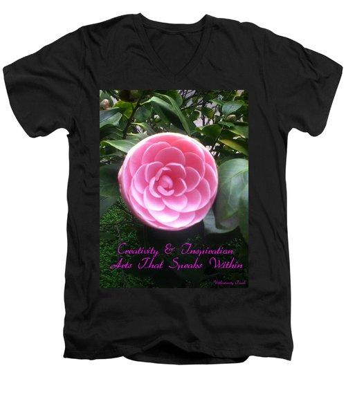 Light Of The Garden Men's V-Neck T-Shirt