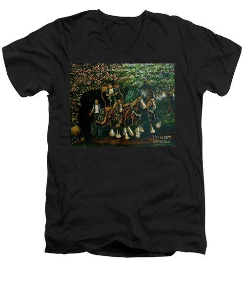 Light Touch Men's V-Neck T-Shirt