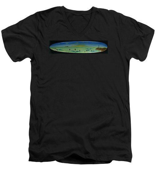 Lighthouse Surfers Cove Men's V-Neck T-Shirt