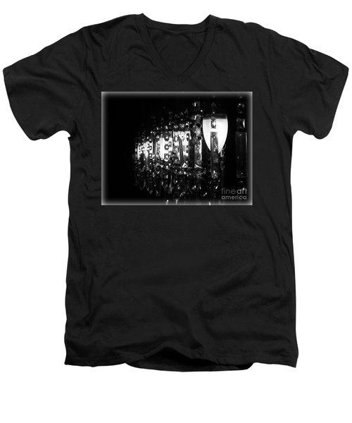 Lightwork Men's V-Neck T-Shirt by Clare Bevan