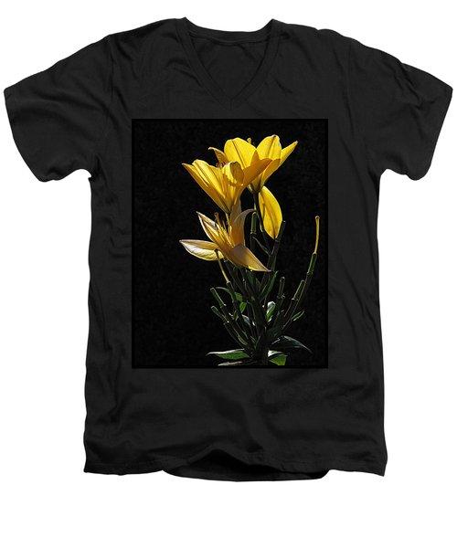 Lily Light Men's V-Neck T-Shirt