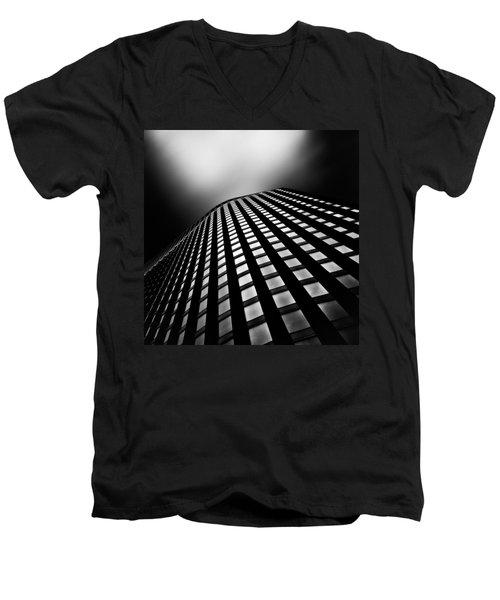 Lines Of Learning Men's V-Neck T-Shirt