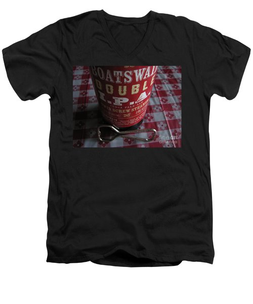Men's V-Neck T-Shirt featuring the photograph Liquid Gold by Michael Krek