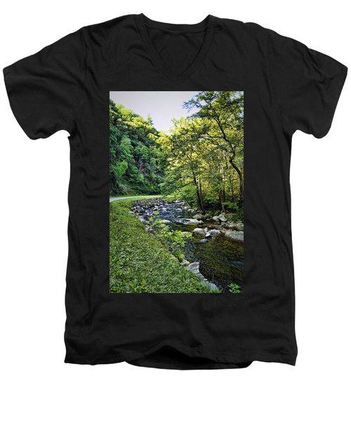 Little River Road Men's V-Neck T-Shirt