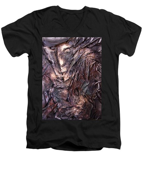 Living Bark Men's V-Neck T-Shirt