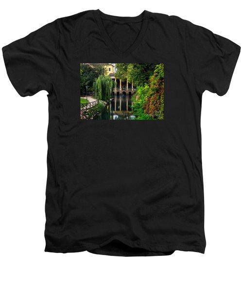 Loggia Valmarana On The Seriola Men's V-Neck T-Shirt