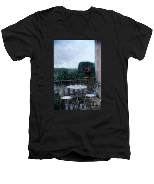 Loire Valley View Men's V-Neck T-Shirt by Madeline Ellis