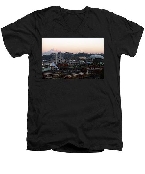 Lost In A Memory Men's V-Neck T-Shirt