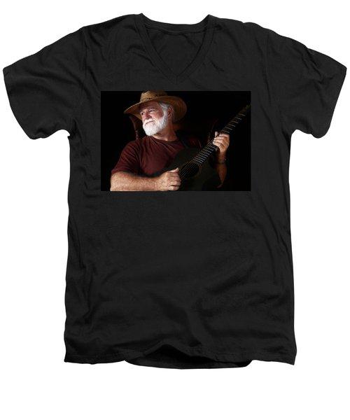 Lost In Song Men's V-Neck T-Shirt