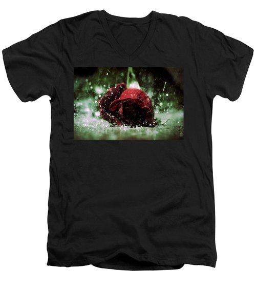 Lost Love Men's V-Neck T-Shirt