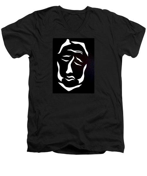 Lost Soul Men's V-Neck T-Shirt by Delin Colon