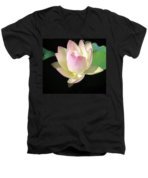 Lotus 9 Men's V-Neck T-Shirt