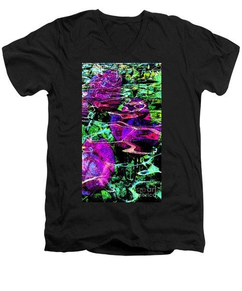 Love Ever Gives Men's V-Neck T-Shirt