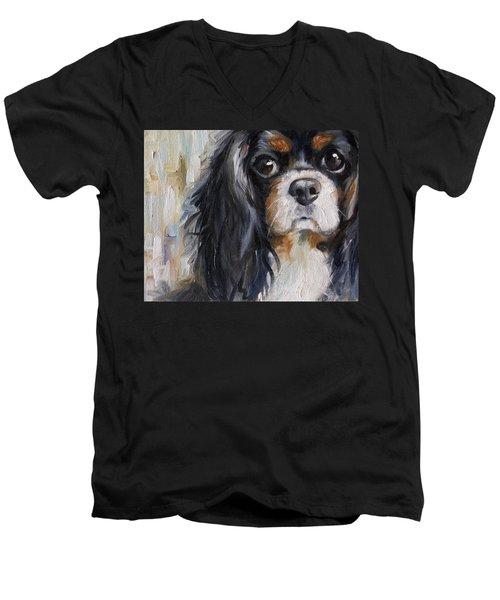 Love Men's V-Neck T-Shirt by Mary Sparrow
