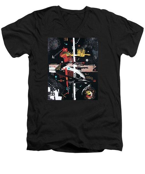 Love How Your Mind Works Men's V-Neck T-Shirt