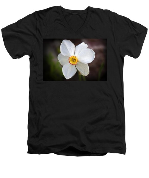 Love Smile And Happiness Men's V-Neck T-Shirt