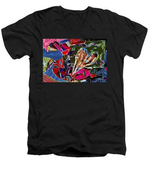 love what U do Men's V-Neck T-Shirt