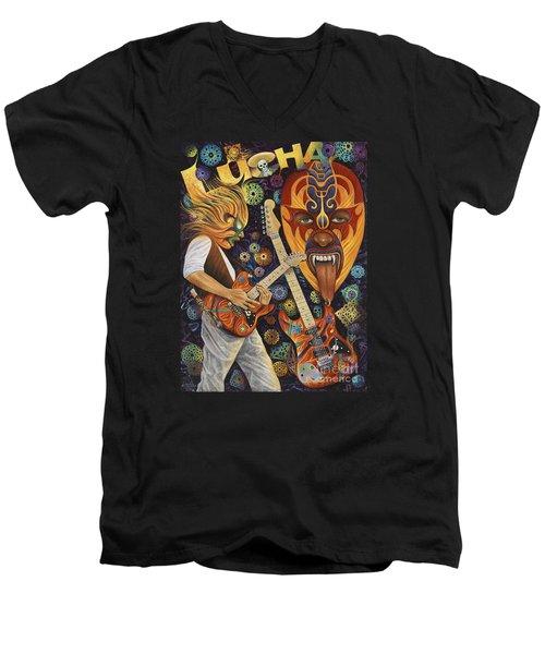 Lucha Rock Men's V-Neck T-Shirt
