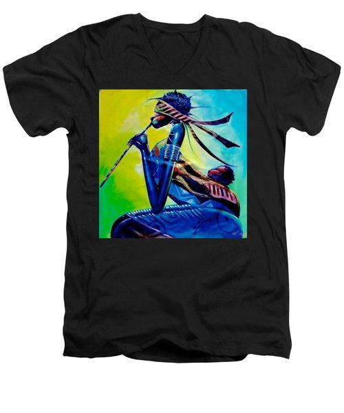 Lullaby Men's V-Neck T-Shirt