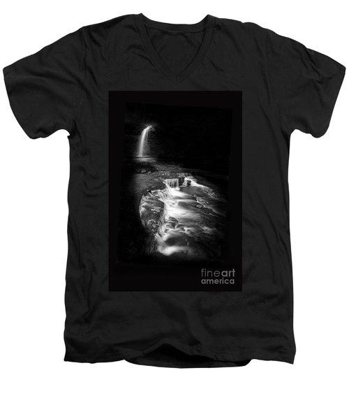Luminous Waters Vi Men's V-Neck T-Shirt