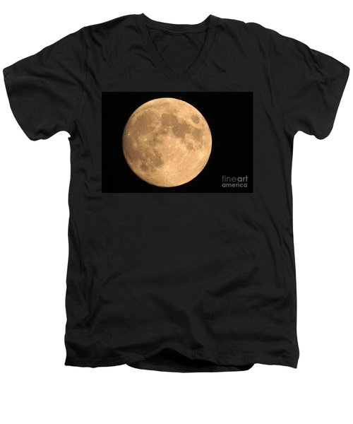 Lunar Mood Men's V-Neck T-Shirt
