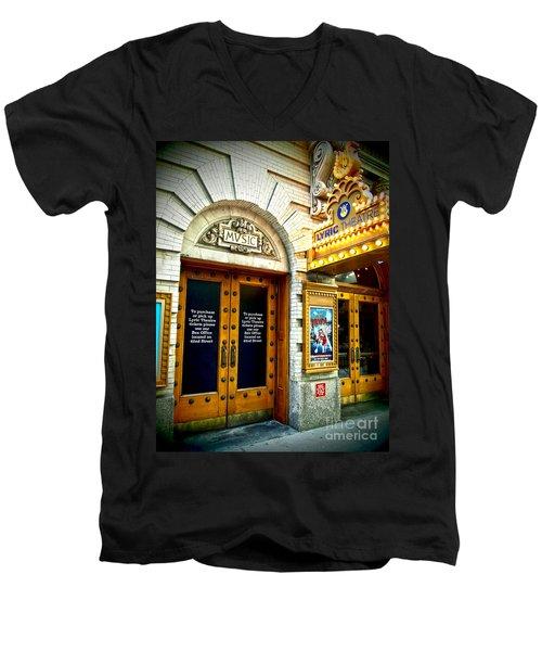 Lyric Theatre - Music Men's V-Neck T-Shirt
