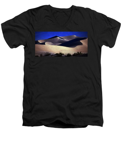 M E S Q U I T E D  Men's V-Neck T-Shirt by Joe Schofield