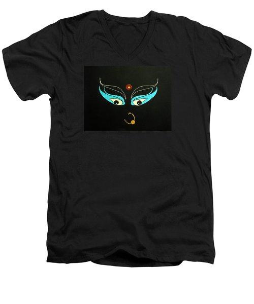 Maa Kali II Men's V-Neck T-Shirt