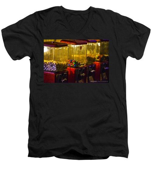 Machines Men's V-Neck T-Shirt