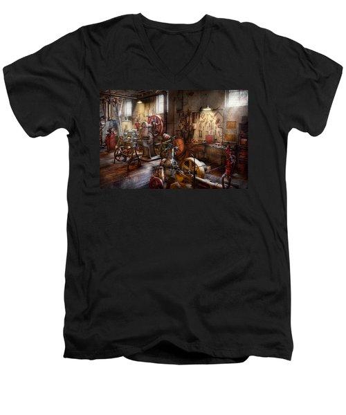 Machinist - A Room Full Of Memories  Men's V-Neck T-Shirt