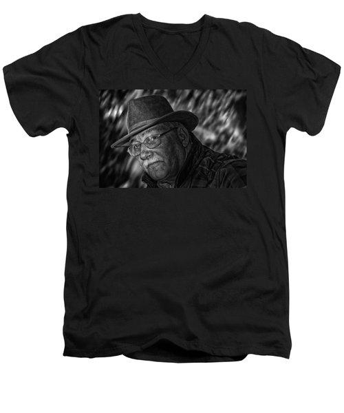 Macho Man Men's V-Neck T-Shirt