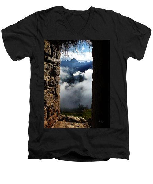 Machu Picchu Peru 4 Men's V-Neck T-Shirt