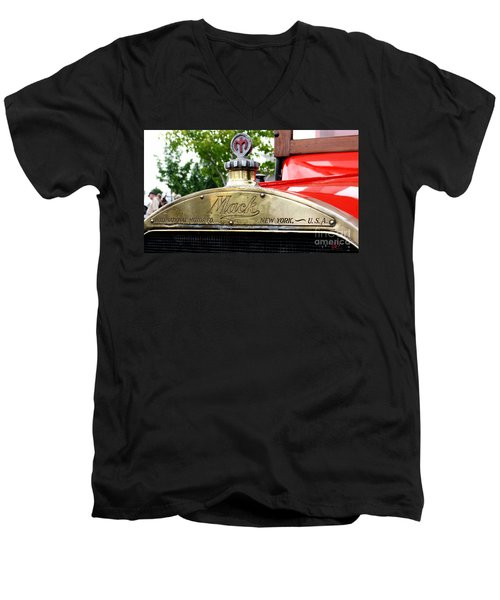 Mack Truck Grill Men's V-Neck T-Shirt
