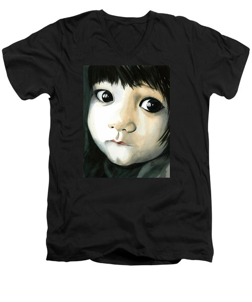 Madi's Eyes Men's V-Neck T-Shirt