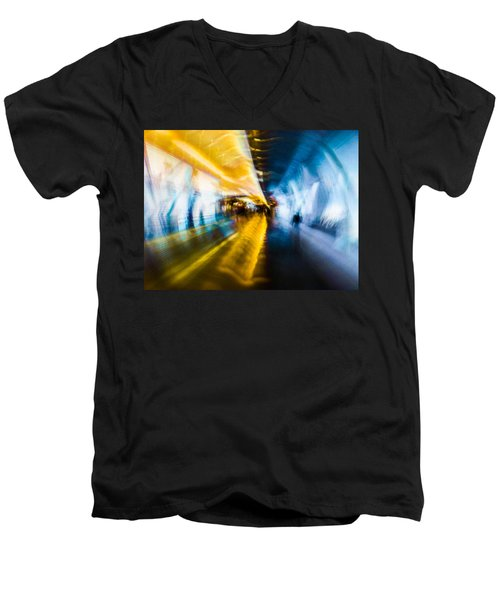 Main Access Tunnel Nyryx Station Men's V-Neck T-Shirt